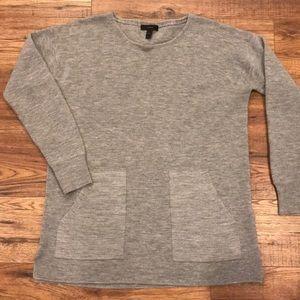 Jcrew merino will tunic sweater